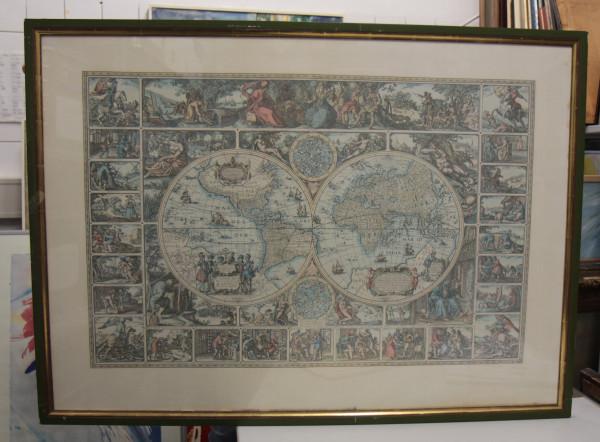 Bilderverkauf - Weltkarte