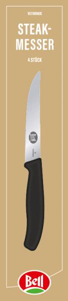 Steakmesser, 4-teilig