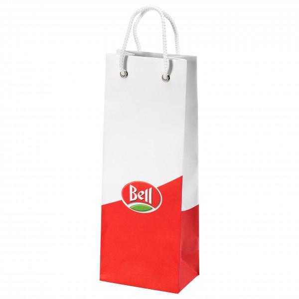 Salami-Beutel mit Bell-Logo