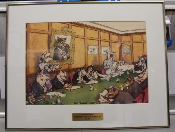 Bilderverkauf - The Board Meeting